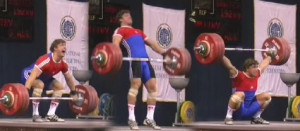 HVR Sports   klokov snatch 475px 300x131 What's the difference between powerlifting, olympic weightlifting and strongman?